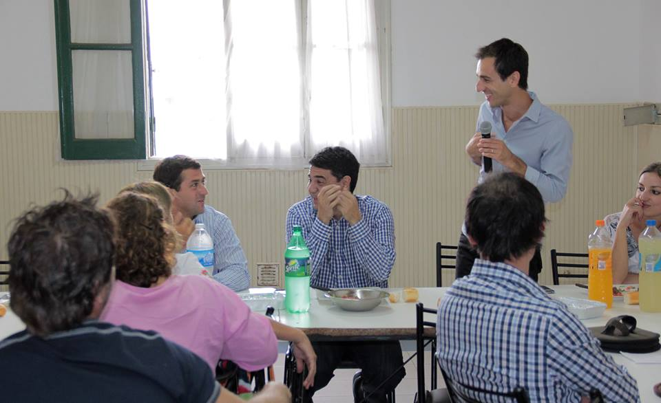 Jorge Macri y Christian Gribaudo